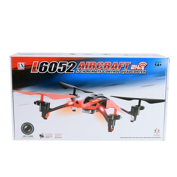 Дрон Lishitoys L6052 2.4G 4CH 2.0 MP Wifi камера 10