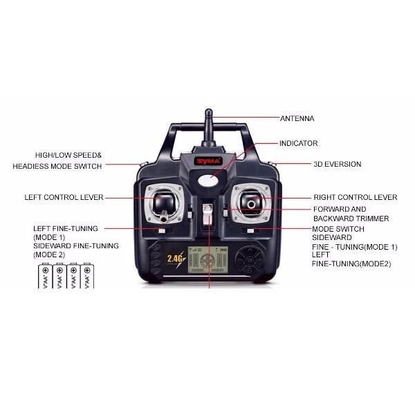 Дрон Syma X5HW с WIFI камера 12