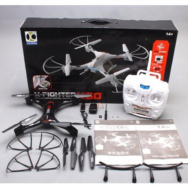 Квадрокоптер - Кай Дън K60 с камера и Led светлини 12