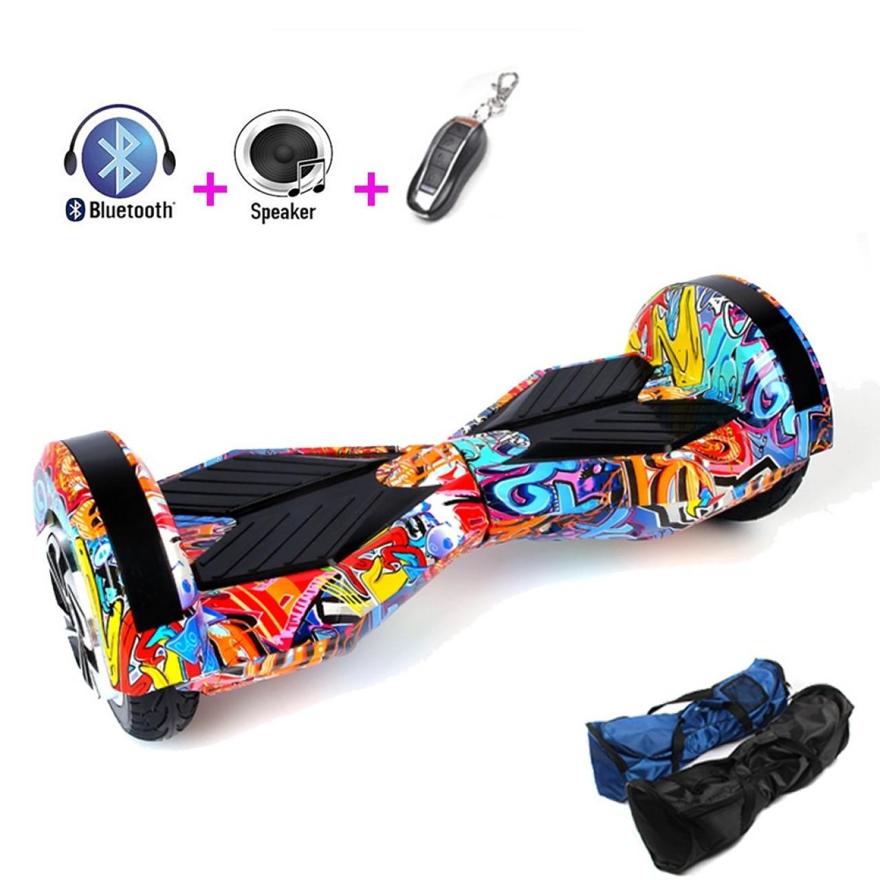 Електрически скейтборд с Bluetooth аудио система iOS и Android 6