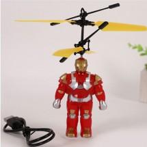 Детска играчка хеликоптер Железен човек