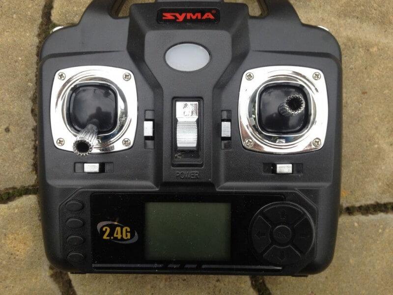 Черният ястреб Syma X5SW FPV WiFi 2.4 Ghz 15
