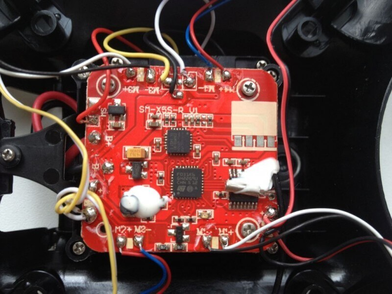 Черният ястреб Syma X5SW FPV WiFi 2.4 Ghz 27